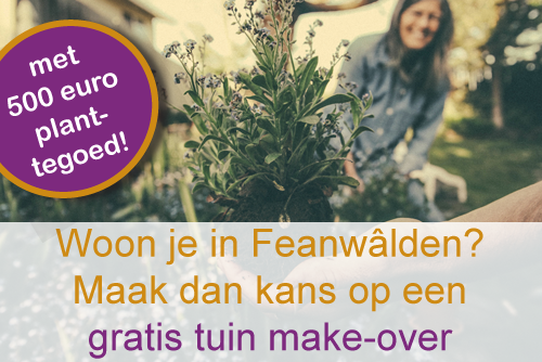 Gratis tuin make-over Feanwâlden